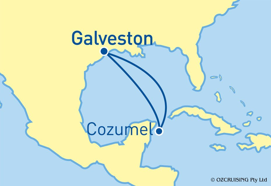 Adventure Of The Seas Cozumel - Mexico - ozcruising.com.au
