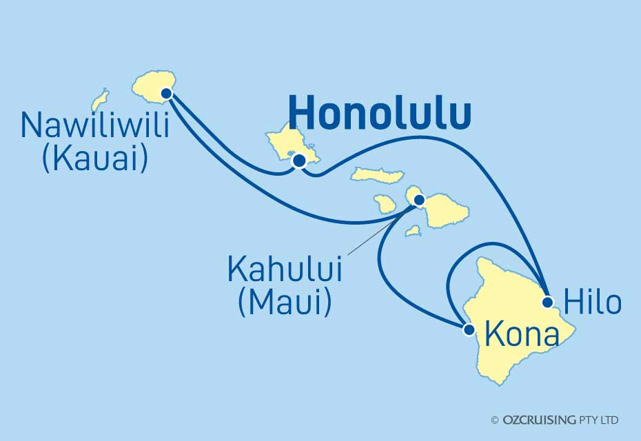 Pride Of America Hawaiian Islands - Ozcruising.com.au